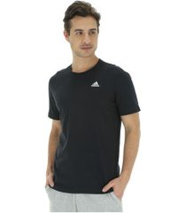 camiseta adidas essentials base - masculina - preto