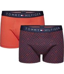 tommy hilfiger boxershort icon 2-pak rood print