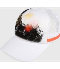 gorra blanco-multicolor roxy