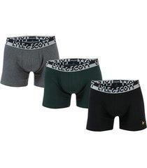 mens ashton 3 pack boxer shorts