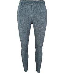 pantalon fila moda terry hombre gris