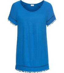maglia con pompon (blu) - bodyflirt