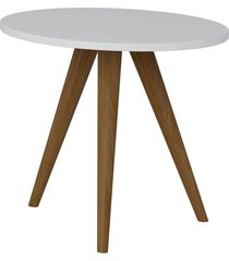 mesa lateral 400 branco tx be mobiliã¡rio - branco - dafiti