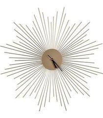 zegar metalowy słońce 60 cm