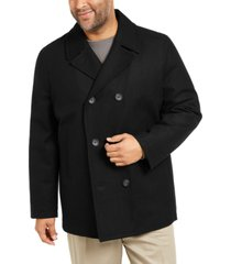 nautica men's big & tall double breasted peacoat