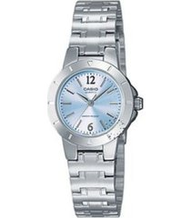 reloj casio ltp_1177a_2a plateado acero inoxidable
