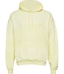 hzw hood yellow faded hoodie trui geel holzweiler