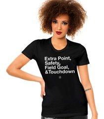 camiseta pontuações