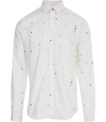 mens shirt ls tailored fit paul smith