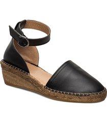 wayfarer sandal sandalette med klack espadrilles svart royal republiq