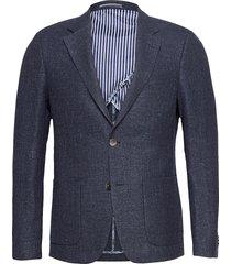 bs olinpico blazer colbert blauw bruun & stengade