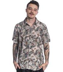 camisa long island pineapple masculina