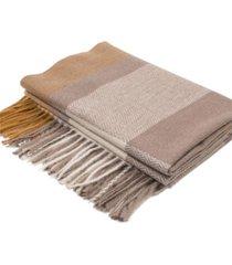glitzhome women's chevron grain scarf with tassels