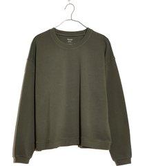 women's madewell swing sweatshirt, size x-large - green