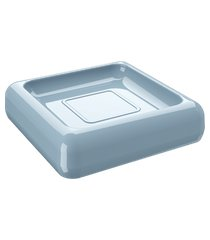 saboneteira cube 10 x 10 x 2,5 cm azul fog coza azul fog coza