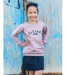 bluza sister dusty pink