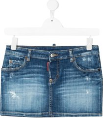jeans minirok