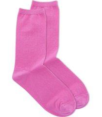 polo women's drop needle crew socks