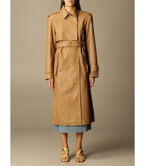 remain birger christensen remain trench coat pirello remain trench coat in sheepskin