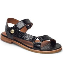 sandals 2842 shoes summer shoes flat sandals svart billi bi