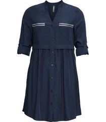 abito chemisier corto (blu) - rainbow