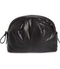 caraa medium nimbus water resistant nylon pouch - black