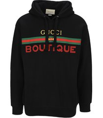 gucci boutique print hoodie