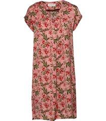dress ss jurk knielengte roze rosemunde