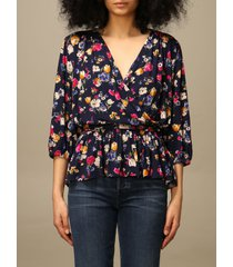 lauren ralph lauren top lauren ralph lauren blouse in patterned viscose