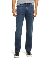 dl1961 men's slim straight stretch jeans, size 42 in shadow at nordstrom