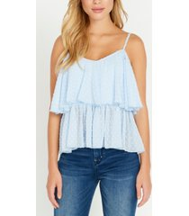 buffalo david bitton dew drop, lace overlay tank