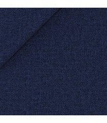 pantaloni da uomo su misura, loro piana, natural stretch blu grisaglia, quattro stagioni
