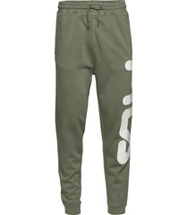 unisex classic pure pant sweatpants mjukisbyxor grön fila
