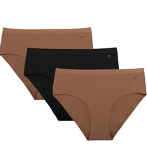 women's evelyn & bobbie assorted 3-pack hipster panties