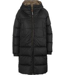 black-beige sportl puffer jacket