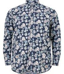 skjorta jprblasummer print shirt l/s s21 ps