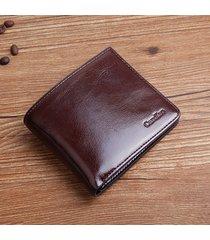 portafoglio multifunzionale da uomo d'affari vintage