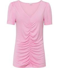 maglia con arricciatura (fucsia) - bodyflirt