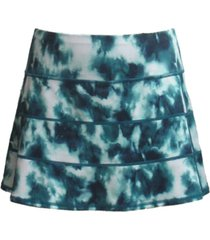 ideology pleated tie-dyed skort, created for macy's