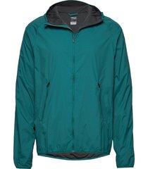 mens coriolis ii hooded windbreaker outerwear sport jackets grön icebreaker
