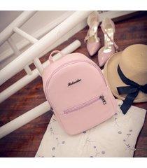 mochila de mujer/ mochila escolar para mujer mochilas-rosa
