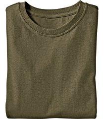 jersey t-shirt uit een mix van hennep en bio-katoen, salie l