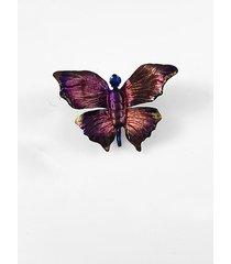 broszka-motyl z tytanu