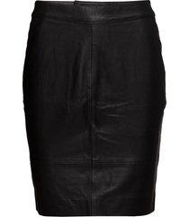 chargz mini skirt noos kort kjol svart gestuz