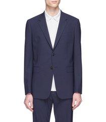 'chambers' virgin wool soft blazer