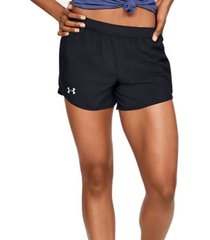 korte broek under armour fly by 2.0 shorts 1350196-001