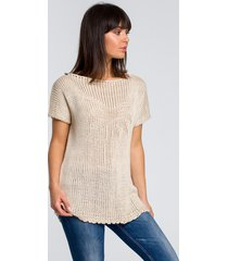 sweter z palmą