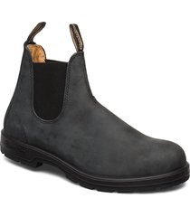 bl classic comfort shoes chelsea boots svart blundst