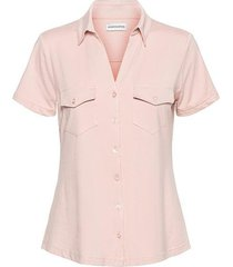 &co woman and co blouse pink vaya