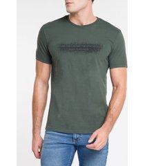 camiseta ckj mc status quo - militar - gg